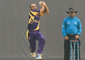 Part-time seamer Sheikh Nasir picked up Malaysia's 2 wickets